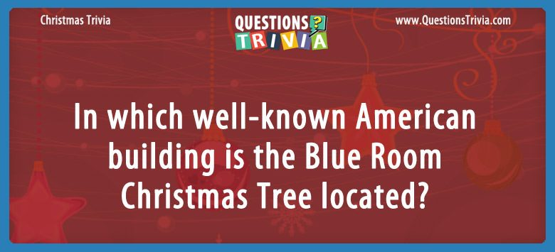 Blue Room Christmas Tree
