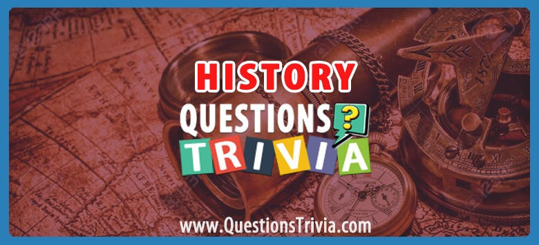 History Trivia Questions Category