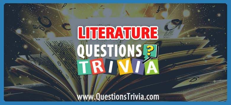 Literature Trivia Category
