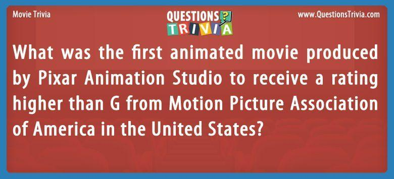 Movies Questions Trivia Card 1