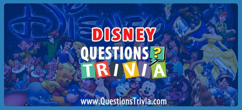 disney trivia category