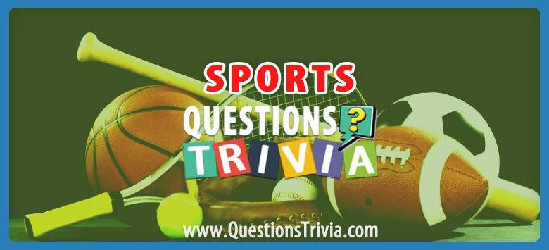 sports trivia category