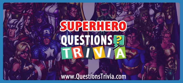 superhero trivia category