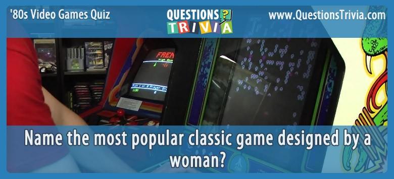 80s Video Games Quiz Centipede Atari