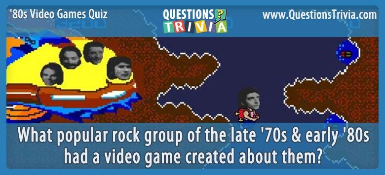 80s Video Games Quiz Journey