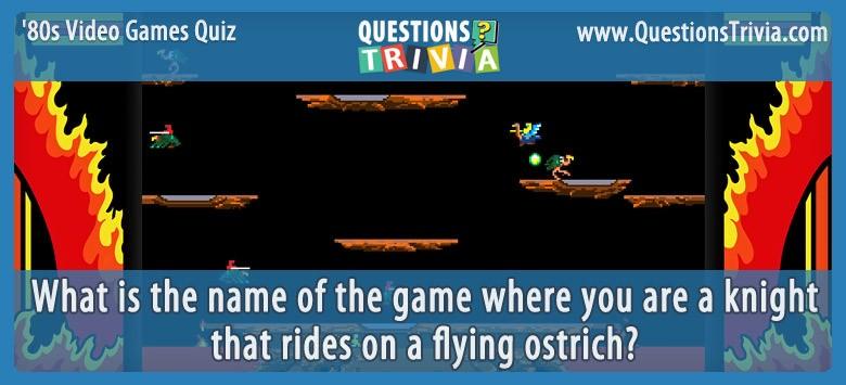80s Video Games Quiz Joust
