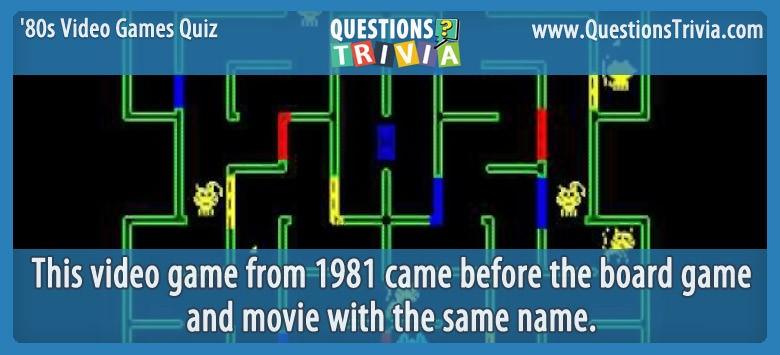 80s Video Games Quiz Mousetrap