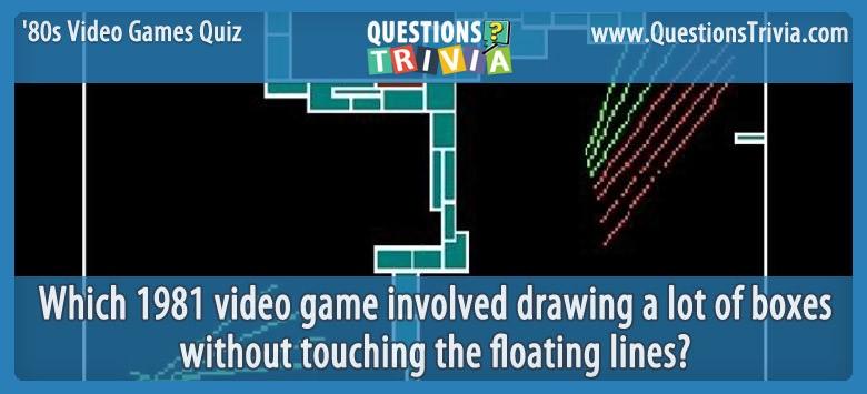 80s Video Games Quiz Qix