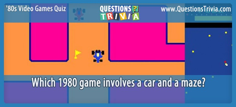 80s Video Games Quiz Rally X