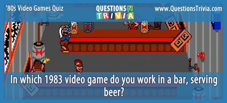 80s Video Games Quiz Tapper