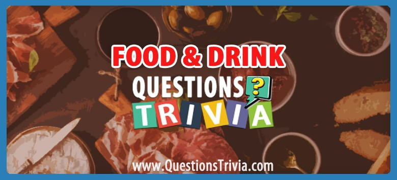 Food Drink Trivia Category