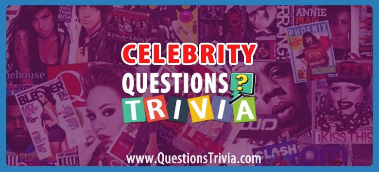 Celebrity Trivia Category