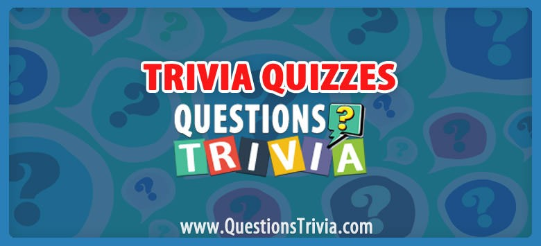 Trivia Quizzes Category