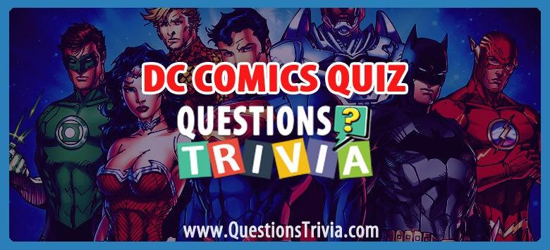 DC Comics Quiz Trivia
