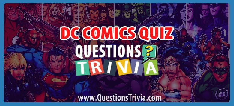 DC Comics Trivia