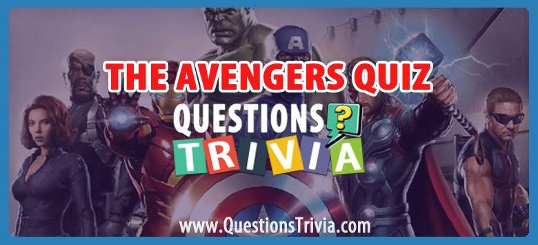 The Avengers Quiz