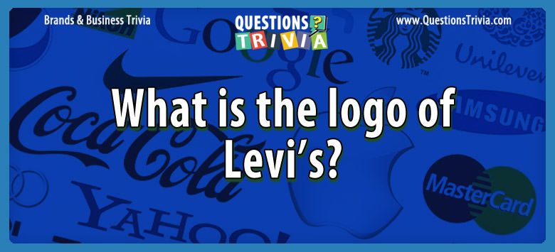 Brands Business Trivia logo levis